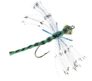 Crystal Damsel Dragon Bass Fly