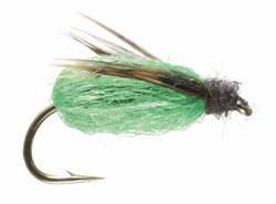 Deep Sparkle Pupa Fly