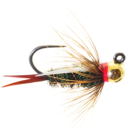 Jigged PrinceTungsten Bead Head Nymph
