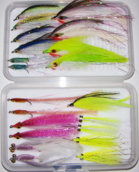 Striped Bass Guide Fly Selection-21 Flies