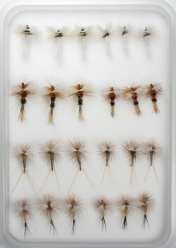 Fly Family Selection - Hairwing Wulff Dry Flies