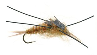 Rubber Legged Stone Bead Head Nymph