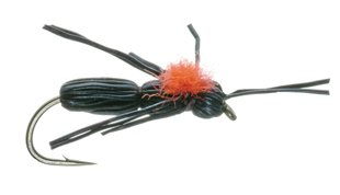 Dave's Carpenter Ant Dry Fly