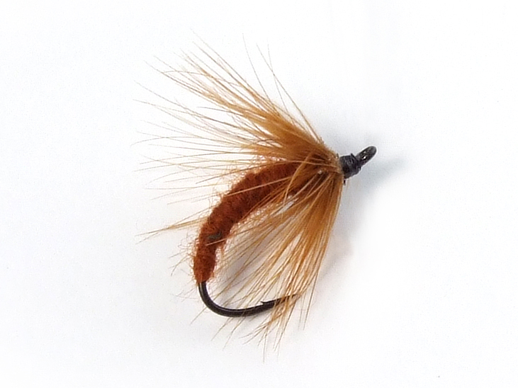 Nikko Kebari - Soft Wet Hackle/Ginger