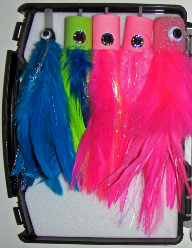 Pate's Billfish Tube Fly <br /> #0 - Blue