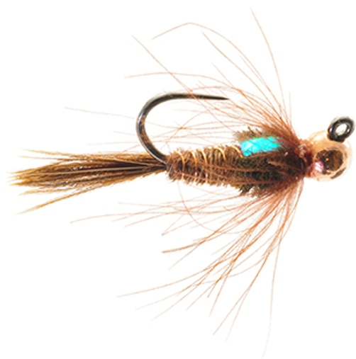 Jigged Hares EarTungsten Bead Head Nymph