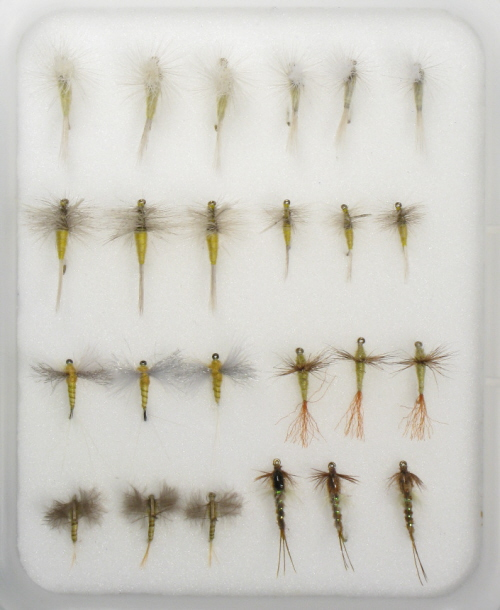 Sulfur Spinner Fly <br /> #14 - Sulfur