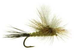 Green Drake Parawulff Dry Fly
