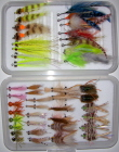 Belize/Yucatan Master Fly Selection-58 Flies in Multiple Fly Boxes