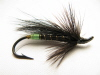 Green Butt Black Bear Hairwing Salmon Fly