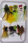 Largemouth Bass Standard Fly Selection-10 Flies