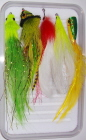 Pike/Muskie Standard Fly Selection-5 Flies