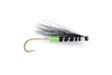 Plastic Black/Chartreuse Tube Fly