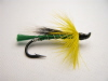 Green Cassaboom Hairwing Salmon Fly